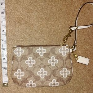 Coach Leather Wristlet - NEW